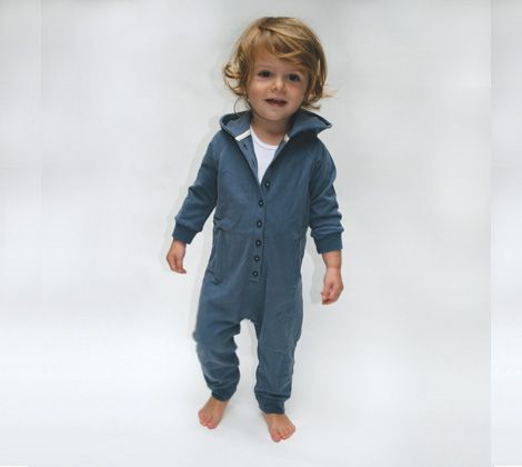 Gray Label hooded Jump suit