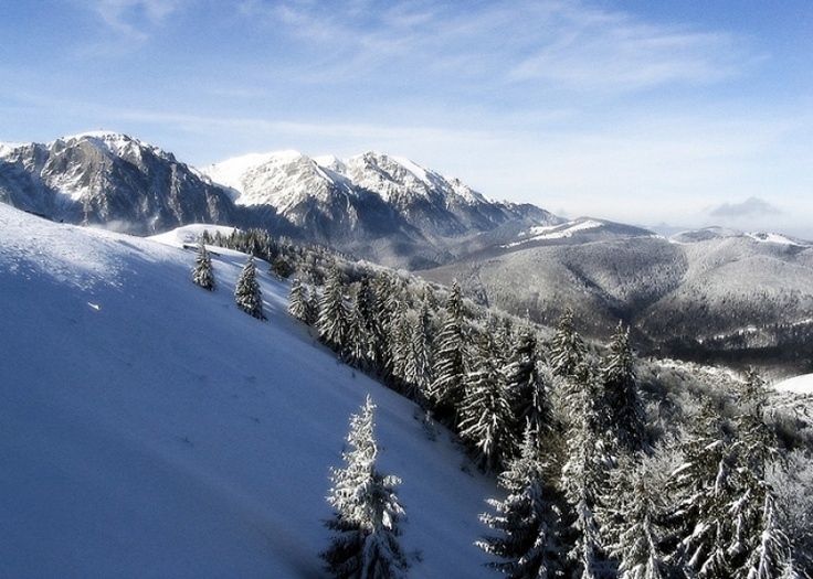 The most famous tourist region of the Carpathian Mountains.