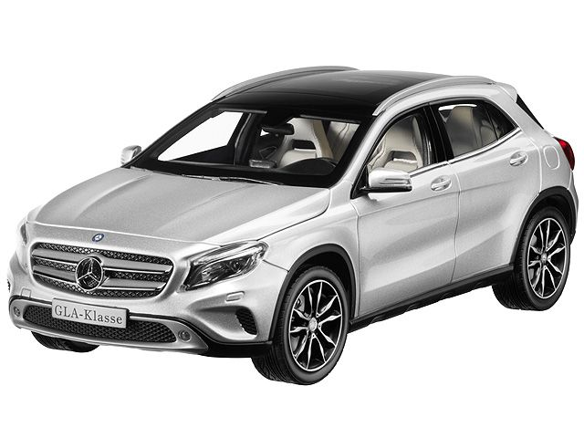 GLA-Class polar silver - B66960267 Progressive in design, serene in day-to-day motoring and with off-road capability: as a wanderer between automotive applications, the Mercedes-Benz GLA impressively reinterprets the compact SUV segment. It lightfootedly masters all day-to-day challenges and is also robust enough for off-road excursions.