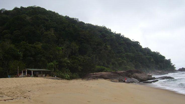 Prumirim beach near Ubatuba / Pobřeží státu São Paulo alias litoral paulista, pláž Prumirim na sever od Ubatuby