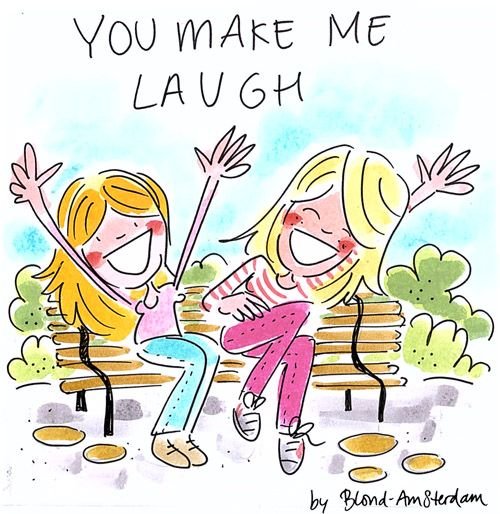 You make me laugh - by Blond-Amsterdam