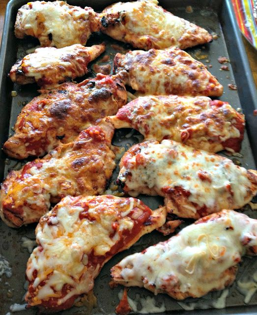 The Nutritionist Reviews: 3 Ingredient Grilled Chicken Parmesan