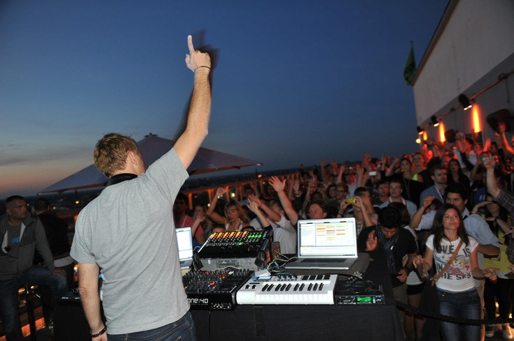 Paul van Dyk FREE Rooftop Sunset Session @ Weekend Club Berlin
