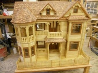 25 best ideas about victorian dollhouse on pinterest for Victorian doll house plans