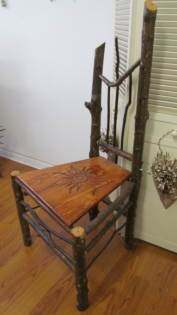 this Local & Handcrafted Chair would be a great addition to a Porch or Cottage!  Still available in the shoppe at 73 Foster Street, Perth, Ontario