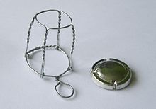 Image result for wire cap cage alcohol
