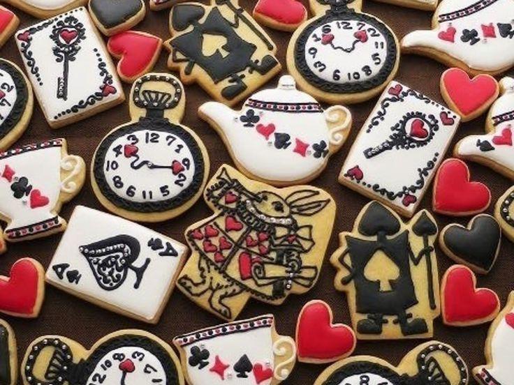 アリスのアイシングクッキーいろいろ