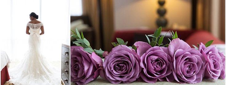 Stylish White & Dusky Pink Wedding featuring Manolo Blahniks by Cristina Rossi Wedding - Nu Bride