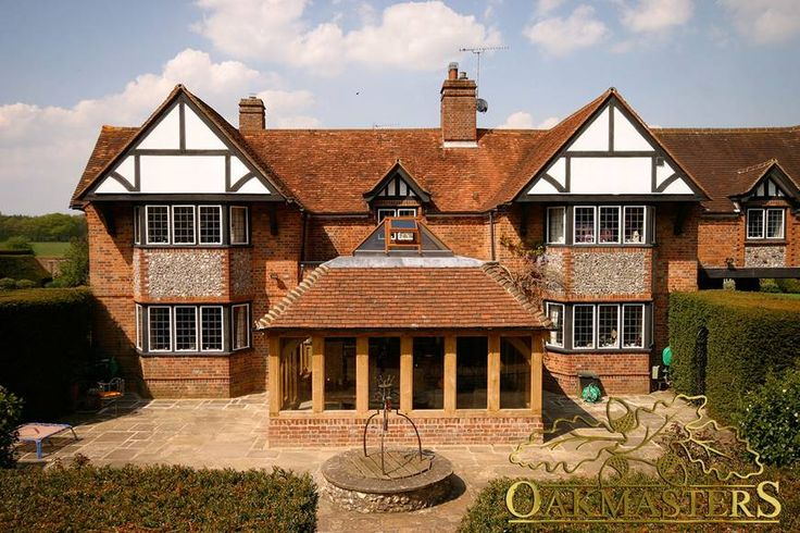 Oak Sun Rooms, Orangeries, Garden Rooms and Conservatories - 782: Timber framed extension. A sensitively installed timed framed orangerie - and extension on your home.