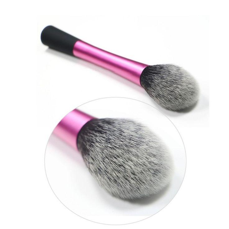 Super Capelli Sintetici di Polvere Cosmetico Blending Pennelli di Trucco Contour Blush