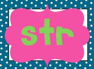 STR, SPR, SCR blends book