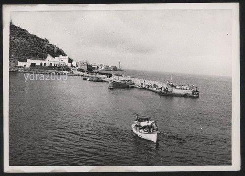 Old postcard, Nisyros port