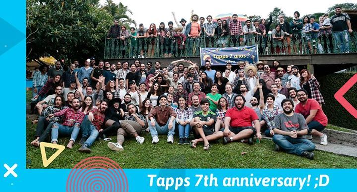It's been 7 years already, and we had to celebrate accordingly.   Thank you so much for playing our games and making it all possible! Tapps Team sends their love to you all <3 #fashion #style #stylish #love #me #cute #photooftheday #nails #hair #beauty #beautiful #design #model #dress #shoes #heels #styles #outfit #purse #jewelry #shopping #glam #cheerfriends #bestfriends #cheer #friends #indianapolis #cheerleader #allstarcheer #cheercomp  #sale #shop #onlineshopping #dance #cheers…