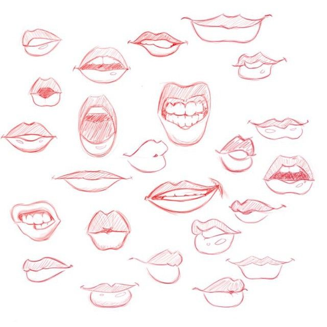 Drawing Lips Related Keywords & Suggestions - Drawing Lips Long ...