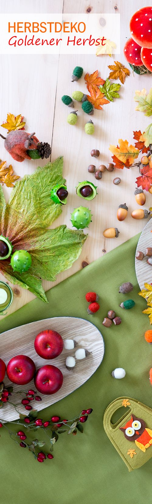 Der Herbst – die Jahreszeit der Besinnlichkeit, in der sich wieder mehr Stunden zu Hause abspielen. Gestalten Sie dafür Ihr Heim mit sinnlicher #Herbstdeko, die für Gemütlichkeit sorgt. #goldenerherbst #warme #farben