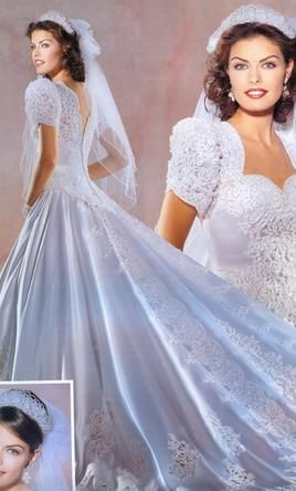 176 best images about 90's WEDDING GOWNS on Pinterest ...