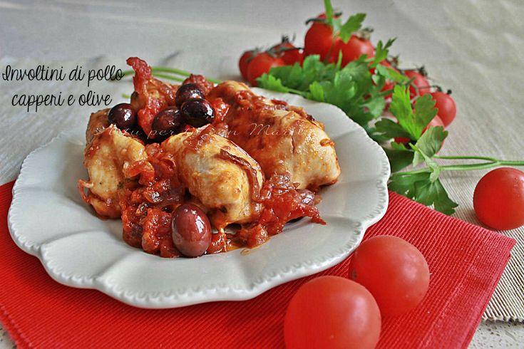Involtini+di+pollo+capperi+e+olive