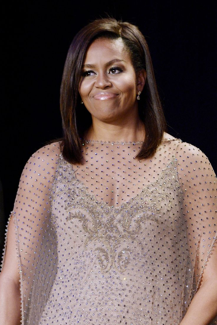 White House Correspondents' Dinner (April 2016)   - 10 Times Johnny Wright Slayed Michelle Obama's Hair To Perfection