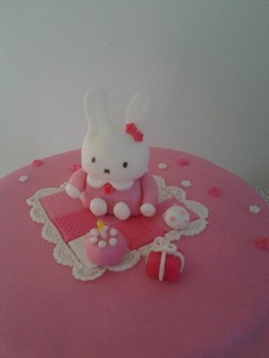Miffy/nijntje  cake
