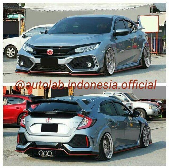 Small Hatchback Turbo Cars: STANCENATION INDONESIA Civic FK Turbo Hatchback Bodykit