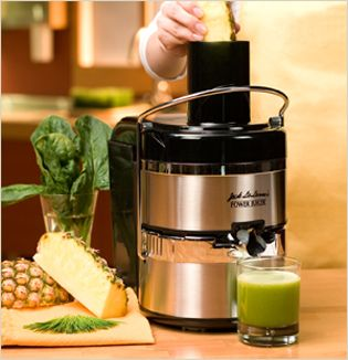 Jack LaLanne Juicer, you will never buy regular juice again, after you make your own blend with this!