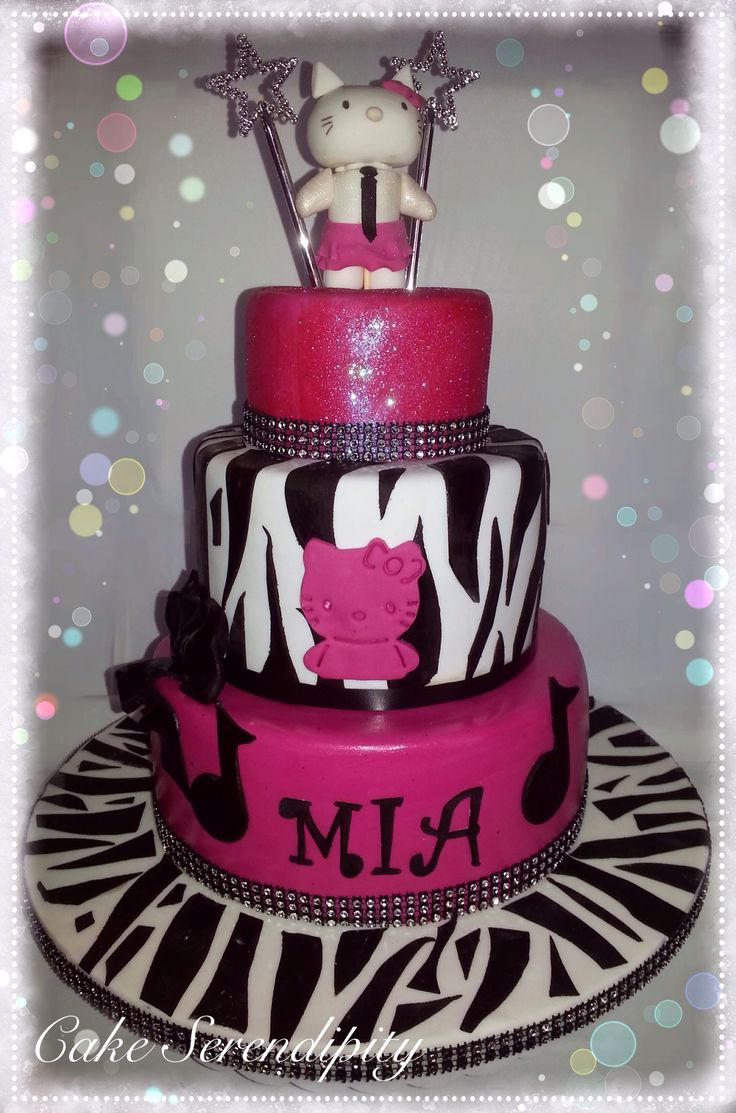 Birthday cake for Mia