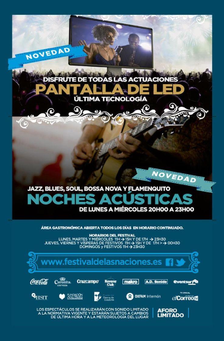 Feria De Las Naciones programa