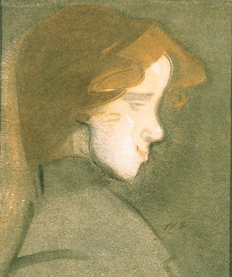 Daughter of the Medicis - Helene Schjerfbeck