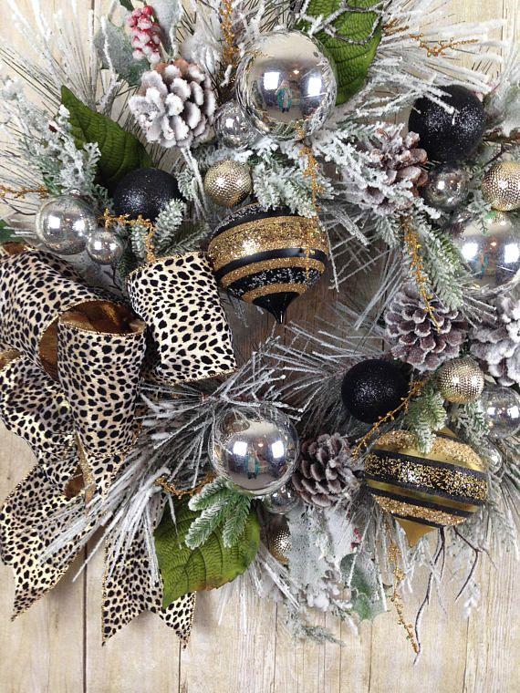 13 best Christmas Winter Door Wreaths for Front Door ...