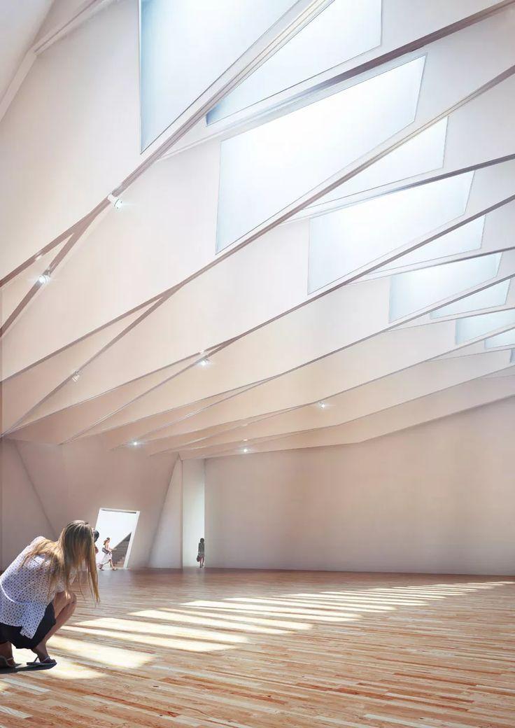 new V&A museum London Amanda Levete Architects interior view