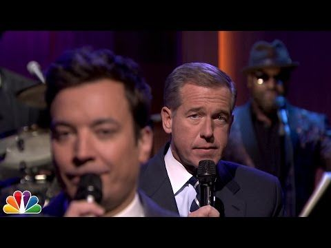 Jimmy Fallon and Brian Williams slow jam immigration news on 'Tonight Show' - Pop Culture - TODAY.com