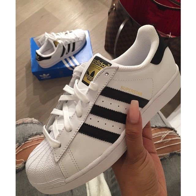 2b45ce35f9ce adidas superstar white blue gold adidas superstar shoes womens black adidas  superstar white and black trainers