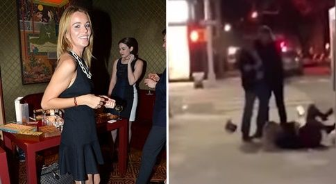 Millionaire daughter of former Redskins owner gets in bloody brawl outside swanky NYC restaurant