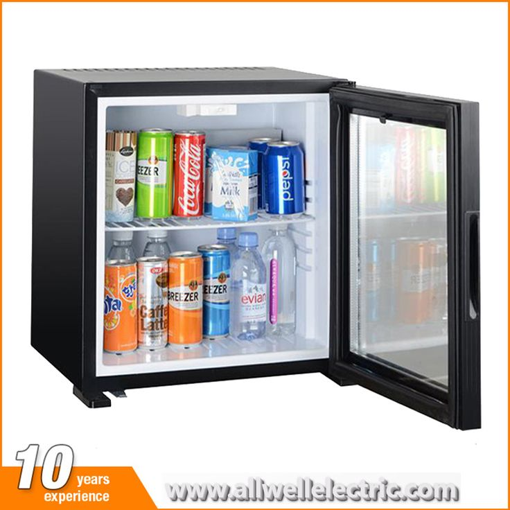 Wholesale low price small hotel glass door absorption / thermoelectric mini fridge with lock