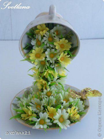 flower Cup - phototutorial Мастер-класс Моделирование: Цветочные чашечки процесс изготовления . Фото 1