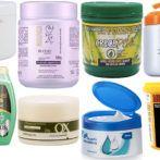 24 máscaras capilares para hidratar, nutrir ou reconstruir