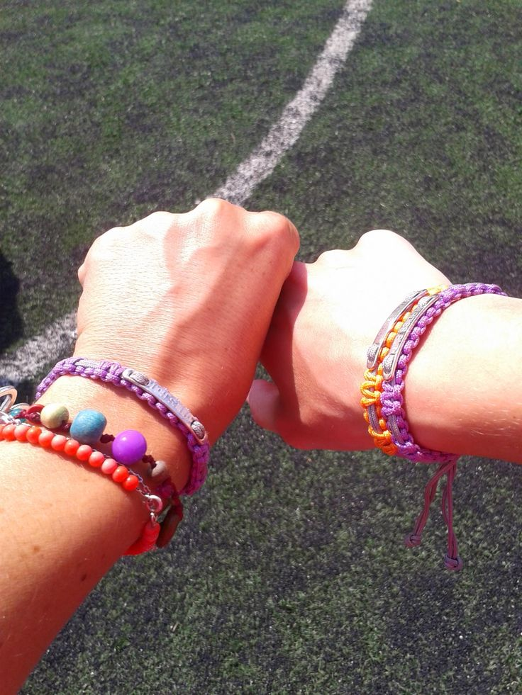 Purple and orange @ladiesrungreece bracelets by @linksoflondon... Skyblue is coming in 2014!!