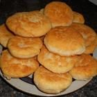 Bannock  3 cups all-purpose flour  1 teaspoon salt  2 tablespoons baking powder  1/4 cup butter, melted  1 1/2 cups water