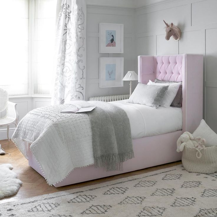 Petite Laurent Bed Our brand new Petite Laurent Bed is almost identical to  it's older sister, but the shorter headboard makes it great for smaller  spaces, ...