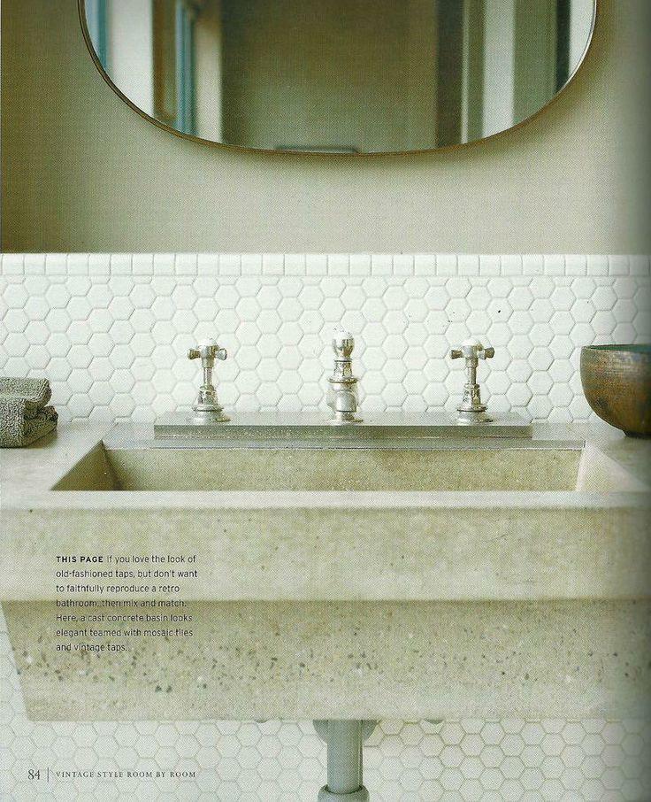 17 best Hexagonal Wall Tile images on Pinterest | Bathroom, Subway ...