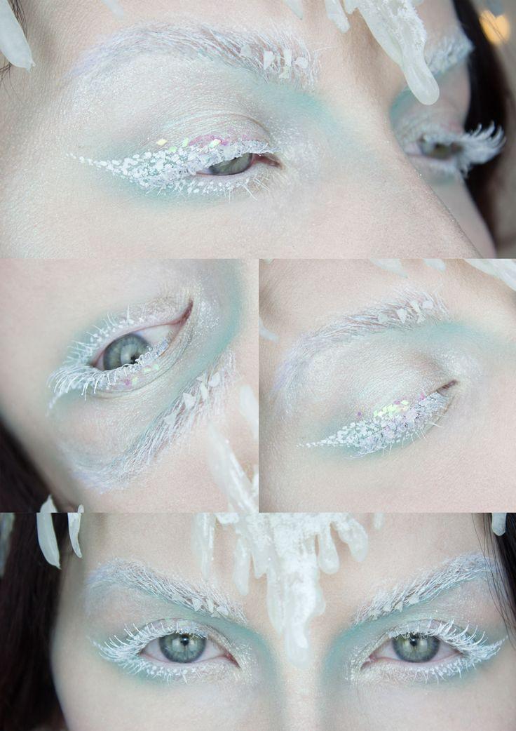 icequeen makeup | Sandra Holmbom