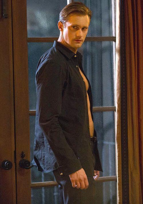 Alexander Skarsgård  as Eric Northman in True Blood Season 7, Episode 2:  I Found You. ( The Vault)