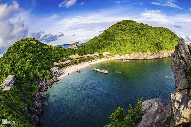 Monkey island, Cat Ba, Vietnam  #monkey #island #catbaisland #catba #haiphong #vietnam #resort #landscape #beach #sightseeing #scenery #outdoors #travel #tour #backpackers #holiday #vacation #asia #tomyasia #picoftheday #photooftheday #igphoto #instagood