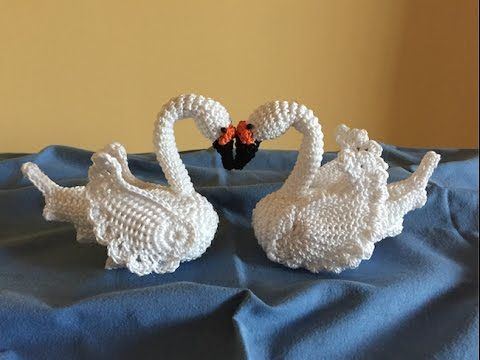 CISNE  EN CROCHET  parte#1 - YouTube