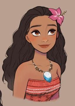 "BOGO FREE! ""Moana""-DISNEY Moana character Princess cartoon cross stitch pdf Pattern – pdf pattern instant download #217"
