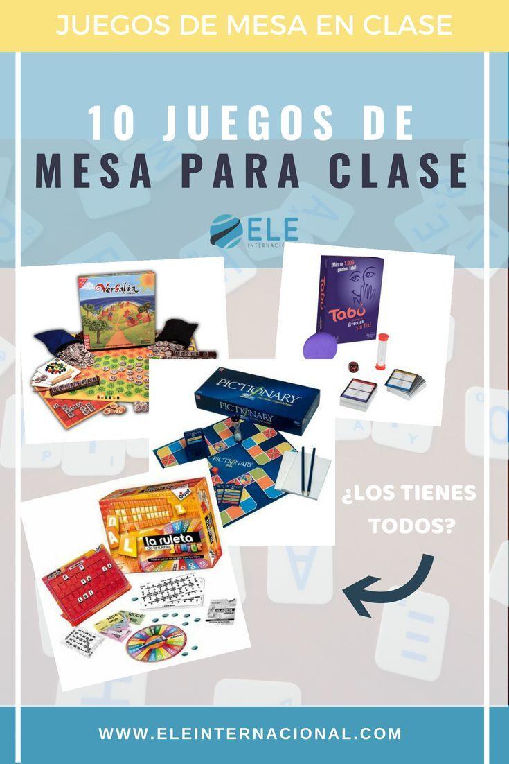 10 Juegos De Mesa Que No Pueden Faltar En Tus Clases De Español I Eleinternacional En 2020 Juegos Juegos De Mesa Juegos De Matemáticas