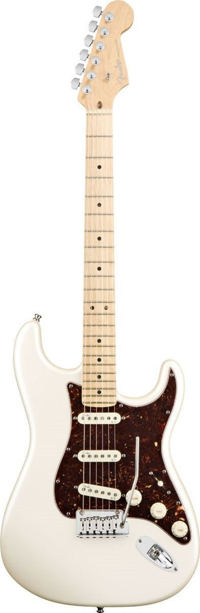 Fender American Deluxe Stratocaster Electric Guitar Tone, tradition and innovation. Fender's American Deluxe Stratocaster has all the modern features today's guitarists require. The compound radius fr