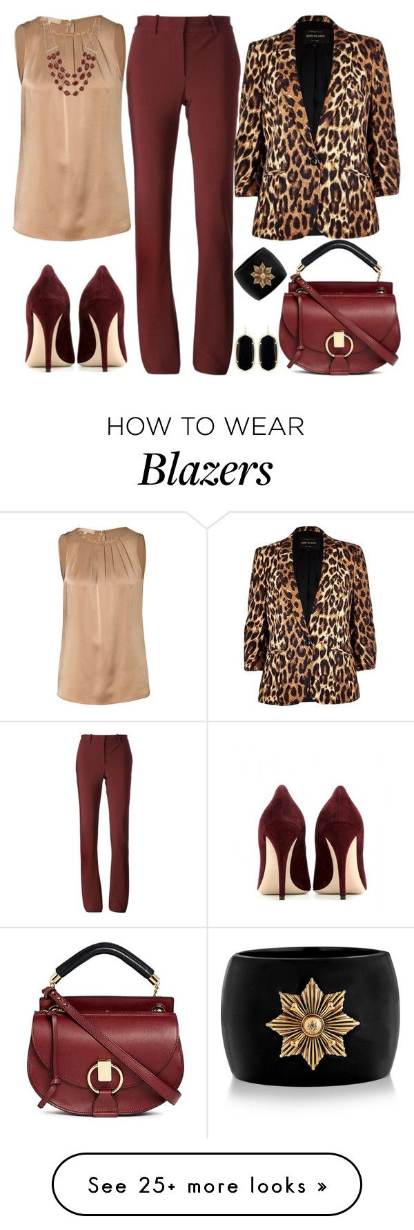 """Untitled #2681"" by emmafazekas on Polyvore featuring Lanvin, Michael Kors, River Island, Miu Miu, Lucky Brand, Chloé, Kendra Scott and Alexander McQueen"