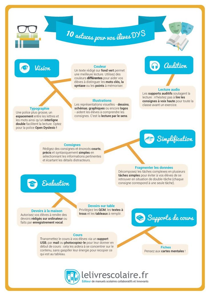10 astuces pour élèves #DYS