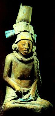 Maya Seated Figurines